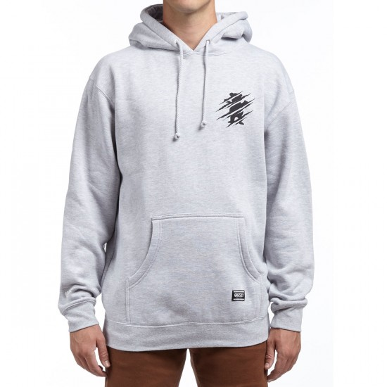 Grizzly Destroy Hoodie - Heather Grey
