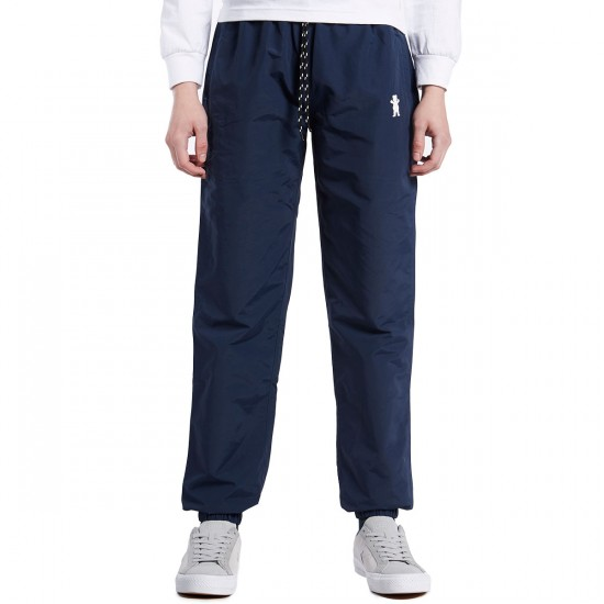 Grizzly Hertiage Warm-Up Pants - Navy - LG