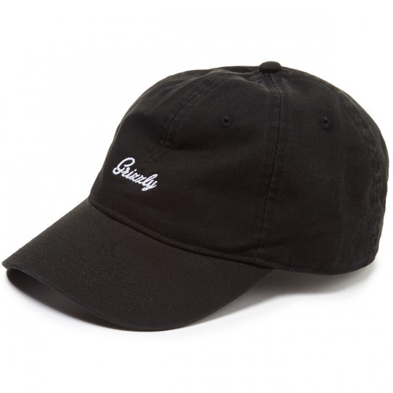 Grizzly Late to the Game Dad Hat - Black