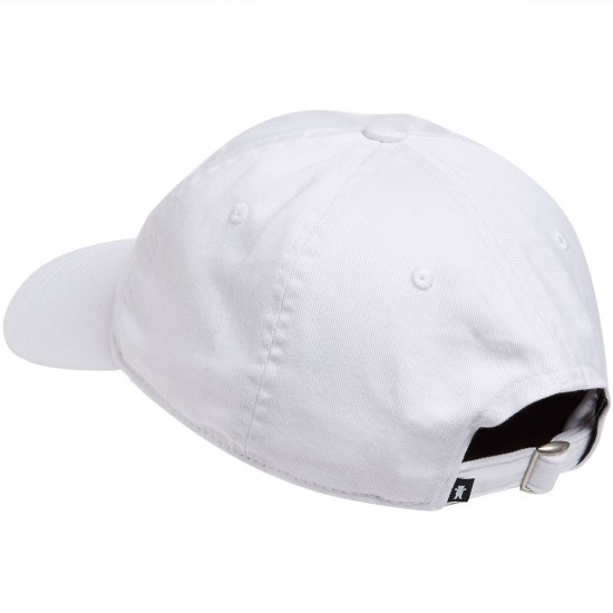 Grizzly Late to the Game Dad Hat - White