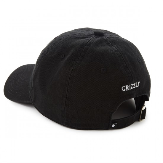 Grizzly Grip OG Dad Bear Logo Hat - black