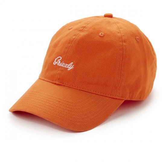 Grizzly Grip Late To The Game Dad Hat - orange