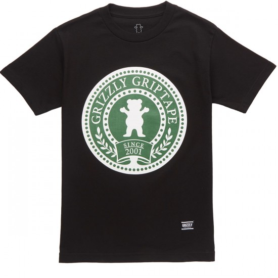 Grizzly Winter Games T-Shirt - Black