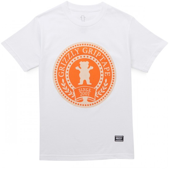 Grizzly Winter Games T-Shirt - White