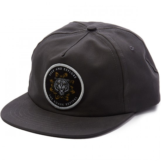 Roark Indian Love Hat - Charcoal