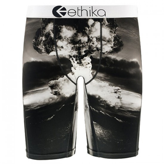 Ethika Kaboom Boxer Brief - Black/White