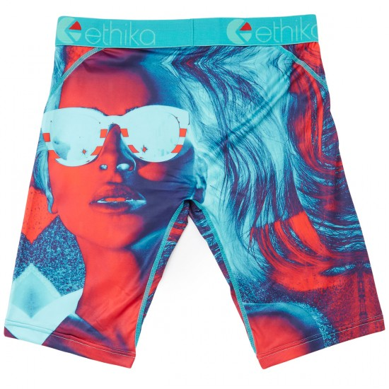 Ethika Man Eater Boxer Brief - Red