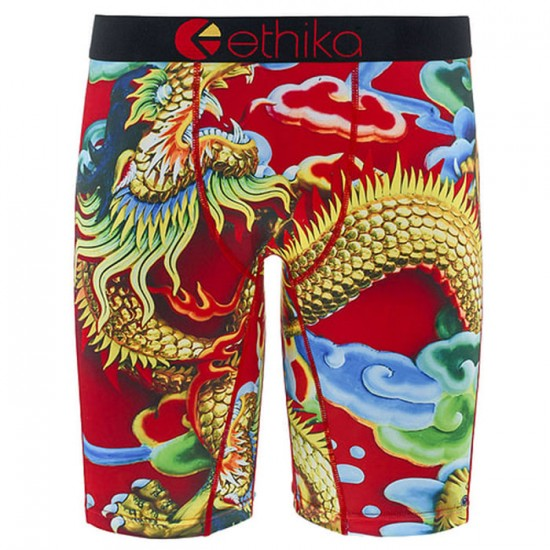 Ethika Red Dragon Boxer Brief - Assorted