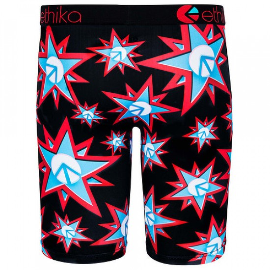 Ethika Sloth Sighted Boxer Brief - Black
