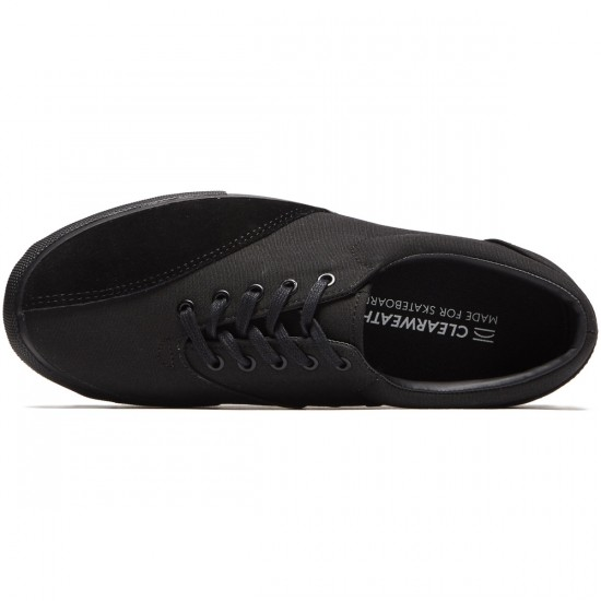 Clear Weather Donny Shoes - All Black - 8.0
