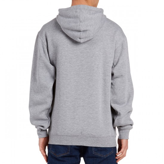 Grizzly Wound OG Bear Hoodie - Heather Grey