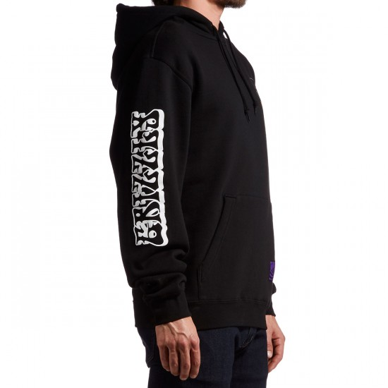 Grizzly X Jimi Hendrix Grizzly Hendrix Pull Over Hoodie - Black