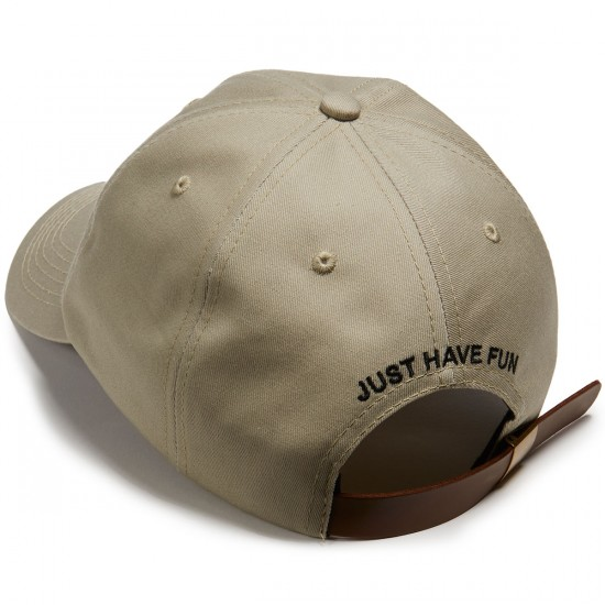 Just Have Fun Premium Skate Dad Hat - Khaki