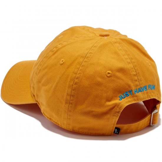 Just Have Fun Classic Skate Dad Hat - Yellow/Blue