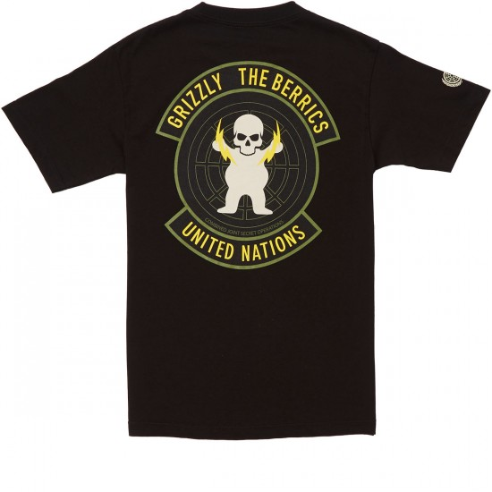 Grizzly Special Forces T-Shirt - Black