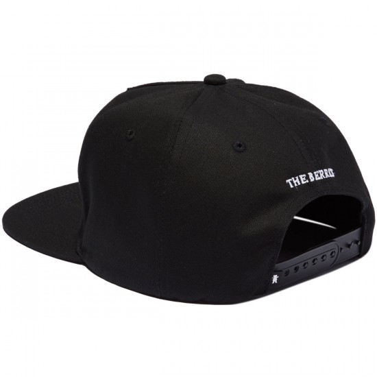 Grizzly Special Forces Snapback Hat - Black