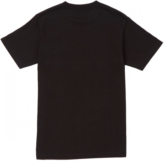 Grizzly Biebel Pocket T-Shirt - Black