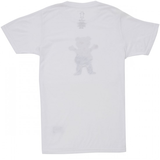 Grizzly Team Burrito T-Shirt - White