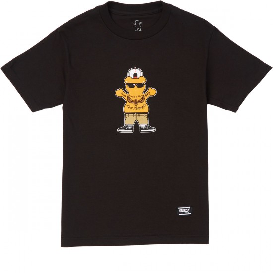 Grizzly Sheckler T-Shirt - Black