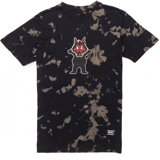 Grizzly Wolfpack T-Shirt - Tie Dye