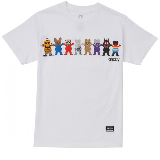 Grizzly Squad Goals T-Shirt - White