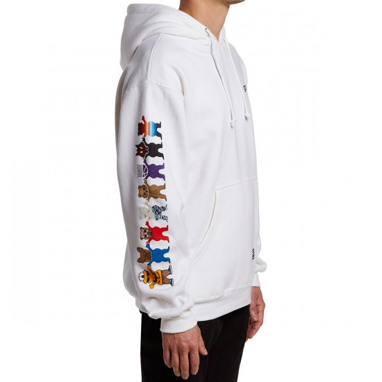 Grizzly Squad Goals Hoodie - White
