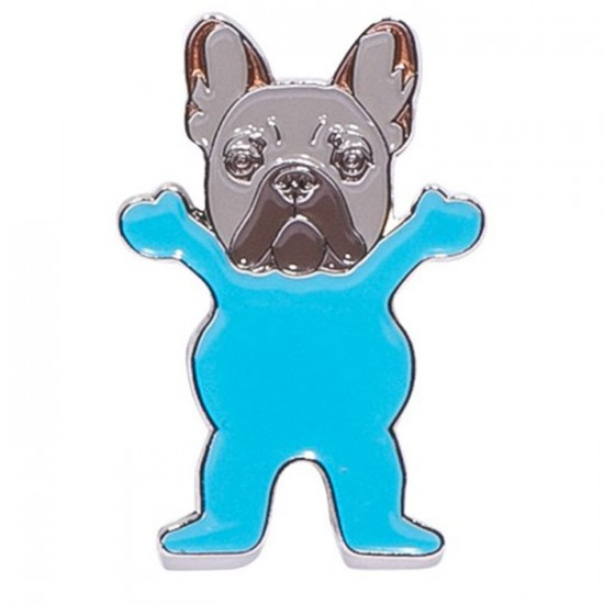Grizzly Frenchie Pin - Assorted