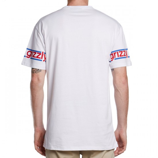 Grizzly Front Runner Jersey - White