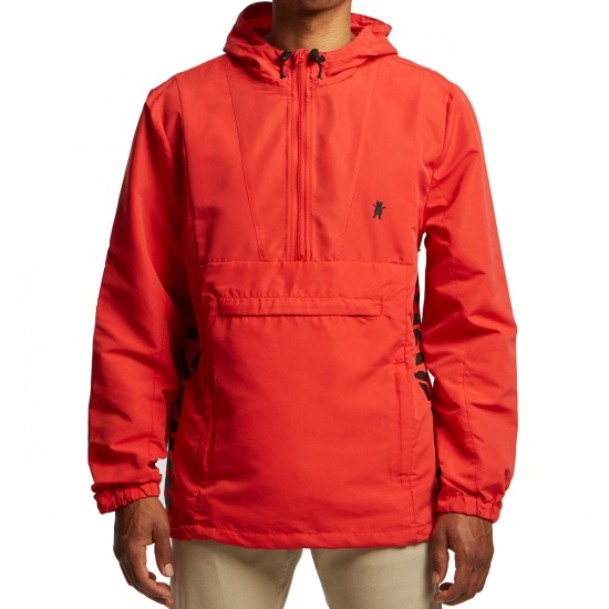Grizzly Medalist Anorak Jacket - Red