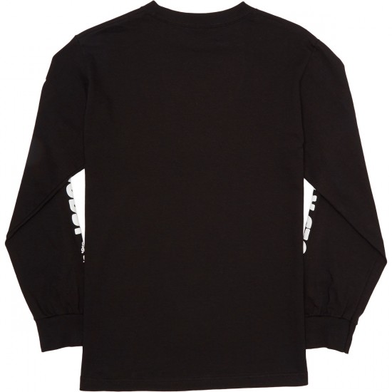 Grizzly Upper Decker Longsleeve T-Shirt - Black