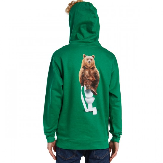 Grizzly Upper Decker Hoodie - Green