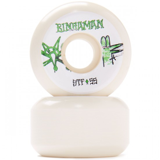 Bones STF Bingaman Burney V5 Skateboard Wheels - 55mm