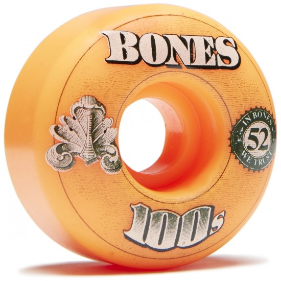 Bones 100's #1 Skateboard Wheels - Assorted - 52mm