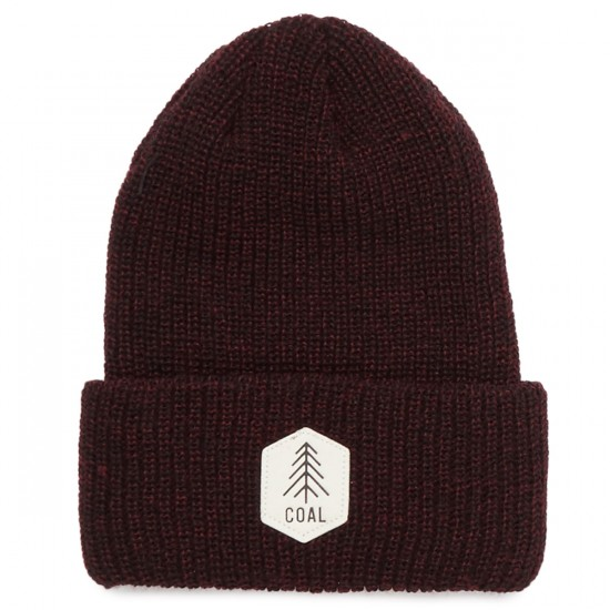 Coal The Scout Beanie - Dark Burgundy