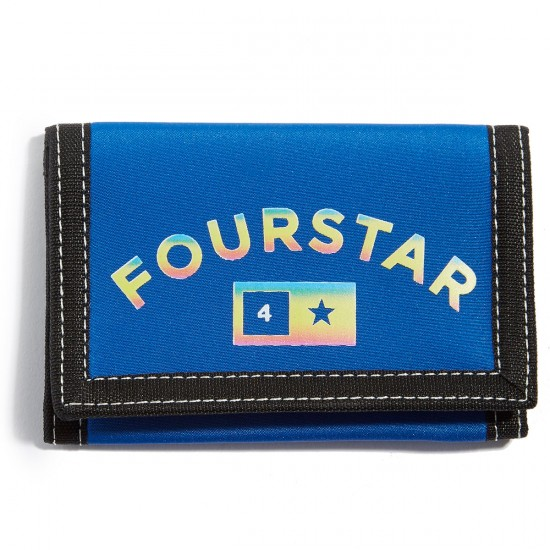 Fourstar Arch Bar Wallet - Blue