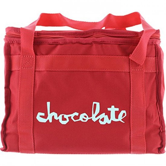 Chocolate Chunk Cooler Bag  - Red