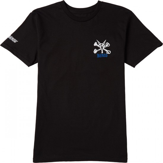Powell-Peralta Rat Bones T-Shirt - Black