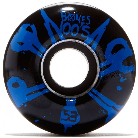 Bones 100's #10 Skateboard Wheels - Black - 100a - 53mm