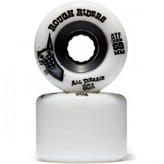 Bones ATF Rough Riders Skateboard Wheels - 59mm 80a