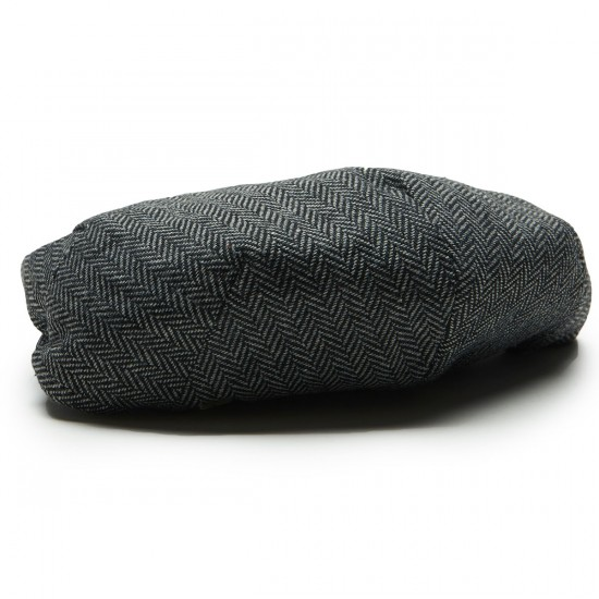 Brixton Hooligan Snap Hat - Grey/Black - LG