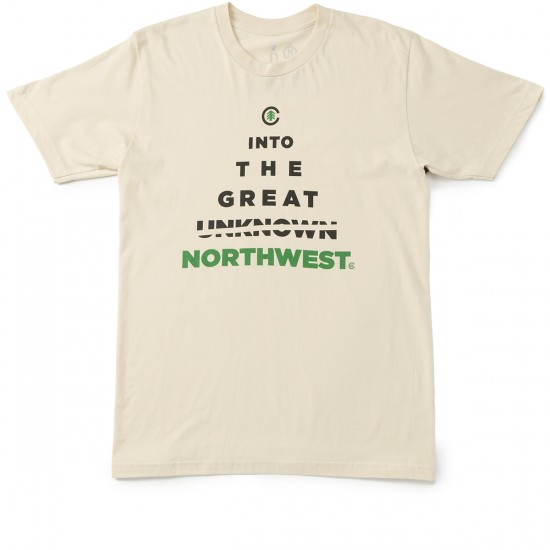 Casual Industrees Into The Great NW T-Shirt - Creme