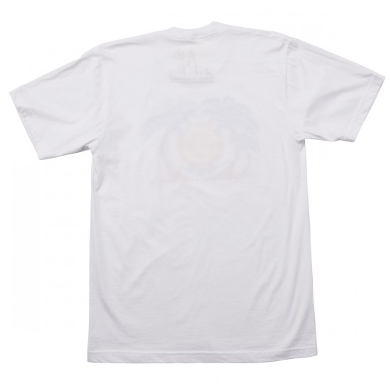 Casual Industrees In The Palm Trees T-Shirt - White