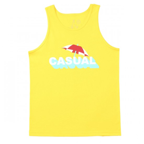 Casual Industrees Shade Tank Top - Yellow