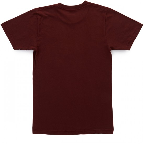 Casual Industrees Johnny Tree Lines T-Shirt - Truffle