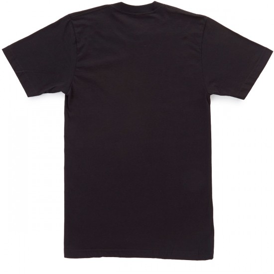 Casual Industrees Kingfisher Embroidered T-Shirt - Black