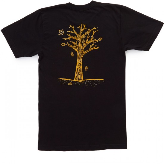 Casual Industrees PNW Fall T-Shirt - Black