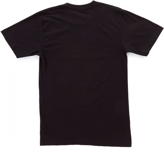 Casual Industrees PNW Shield T-Shirt - Black