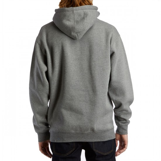 Casual Industrees PNW Shield Pullover Hoodie - Heather Gunmetal