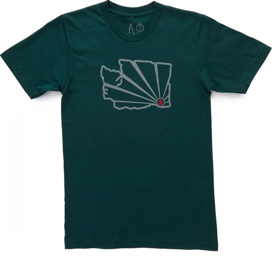 Casual Industrees WA Brah Outline 3m Reflective T-Shirt