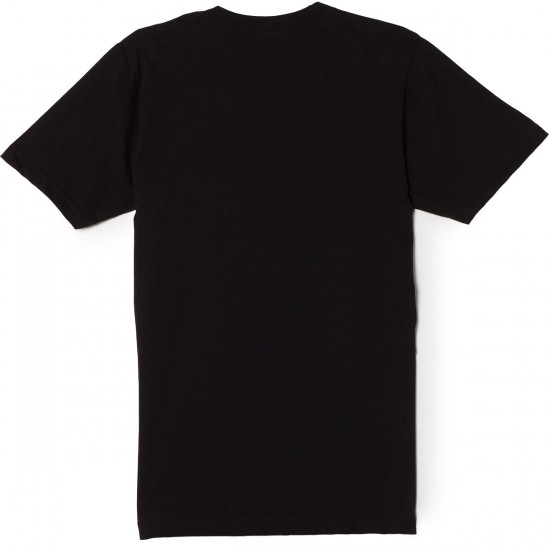 Casual Industrees Chairlift T-Shirt - Black